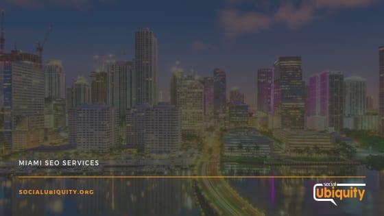 Miami SEO Services